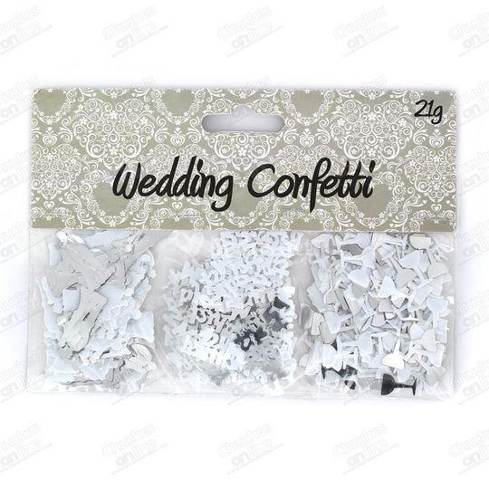 Confetti boda