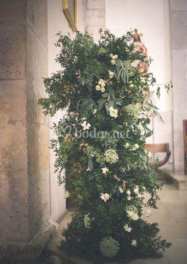 Columnas de flor