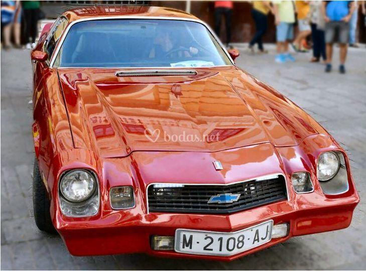 Chevrolet Camaro del 76