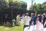Ceremonia religiosa jardín