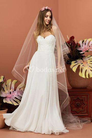 Vestido de novia Gertrude