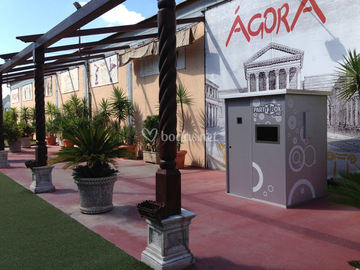 Partybox en Agora