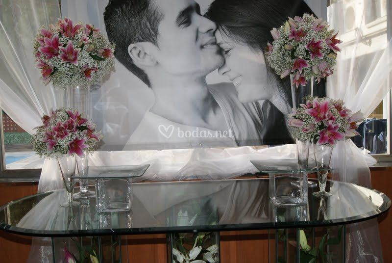 Foto de la pareja