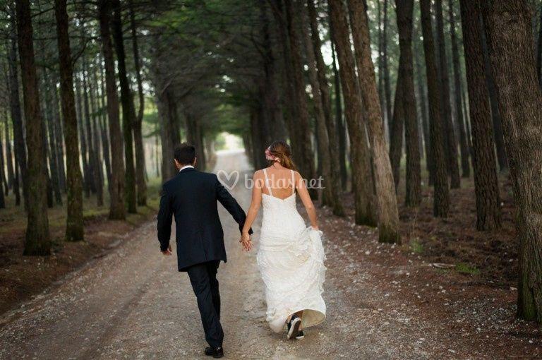 Corriendo hacia el amor