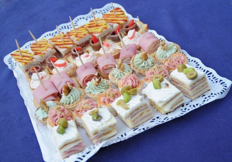 1000 images about canapes on pinterest canapes recipes for Cold canape menu