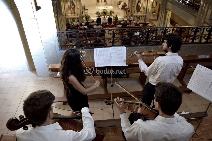 Cuarteto en la Asunción, Gijón