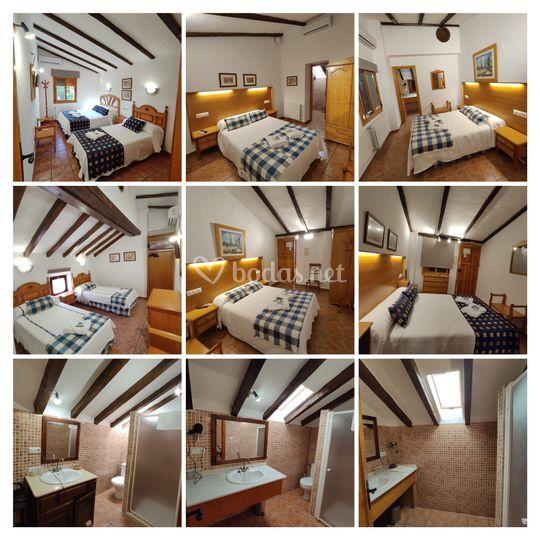 Habitaciones 101 al 105