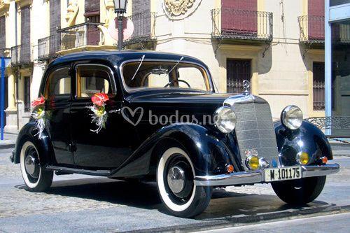 Alquiler de coches. Mercedes 1950