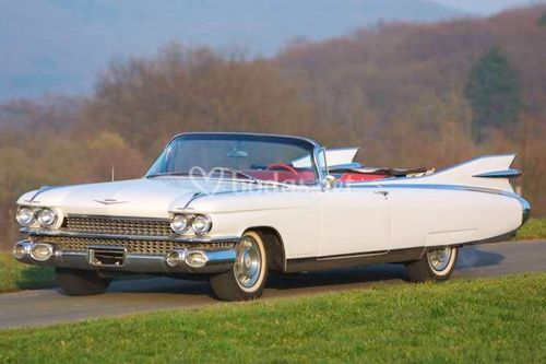 Coches para Bodas. Cadillac el Dorado Biarritz 1959