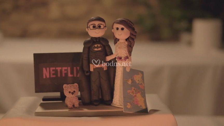 Muñecos de tarta