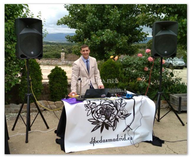 Servicio realizado en una boda