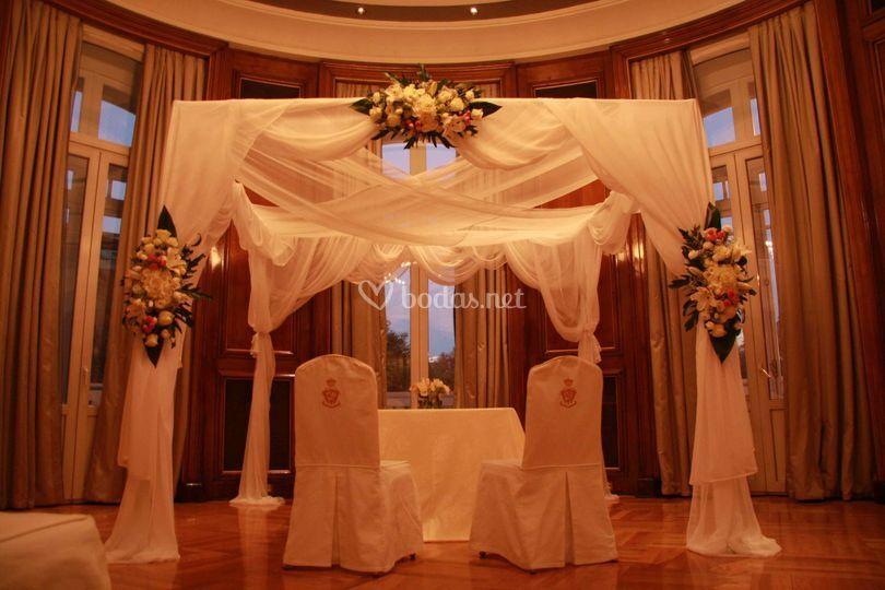 Altares para bodas