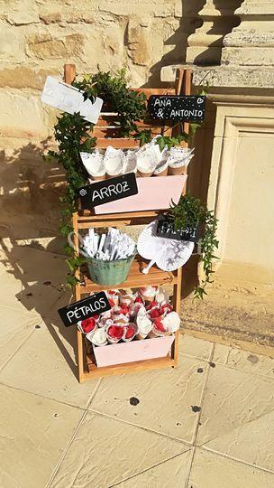 Flores para decorar rincones