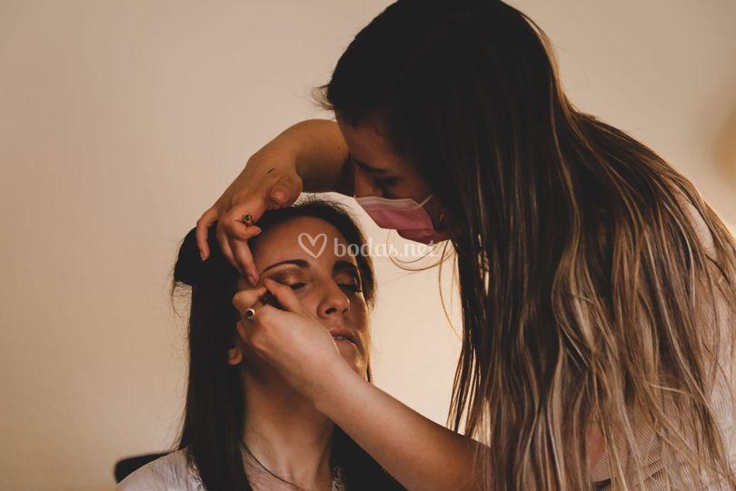 Almu García Makeup