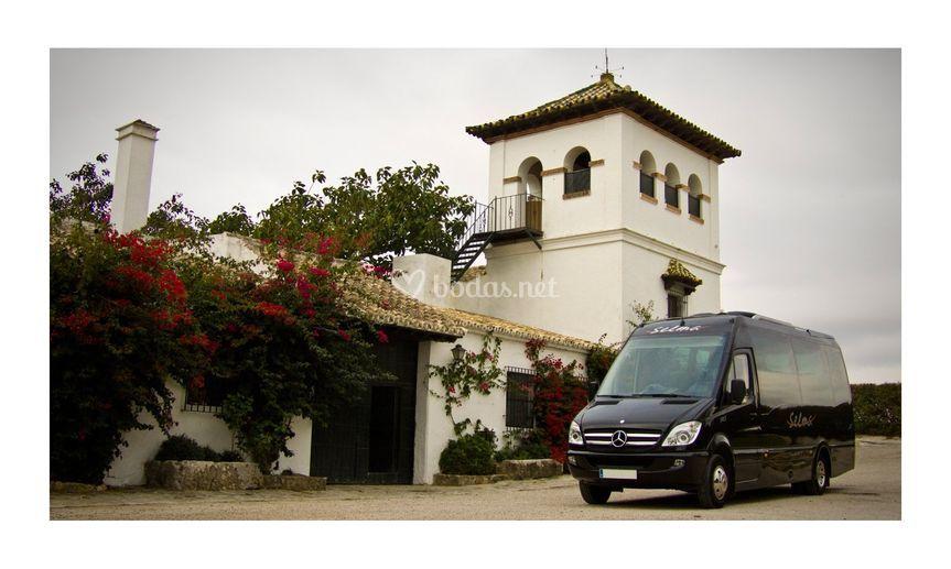 Microbus de lujo de 19 plazas