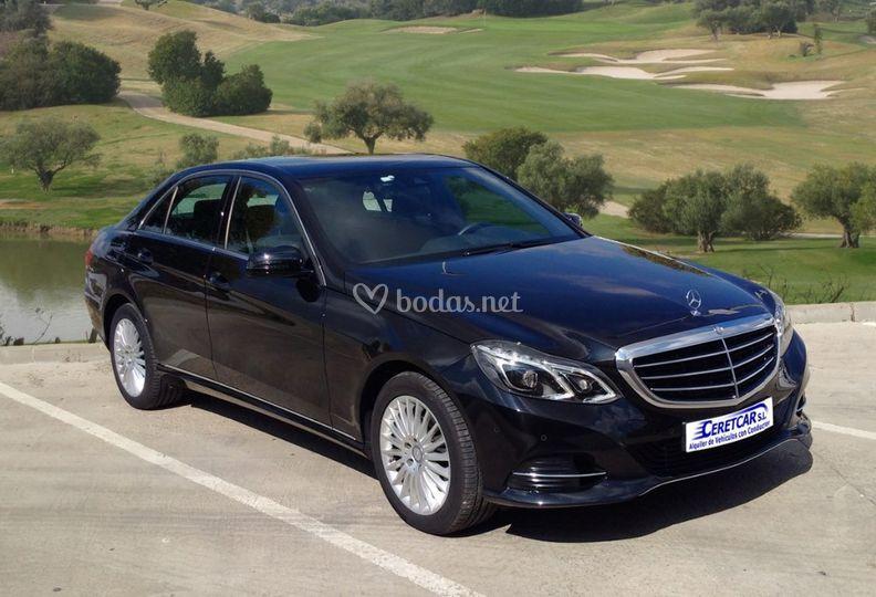 Mercedes Clase E Negro