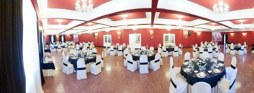 Panorámica Salón Venecia