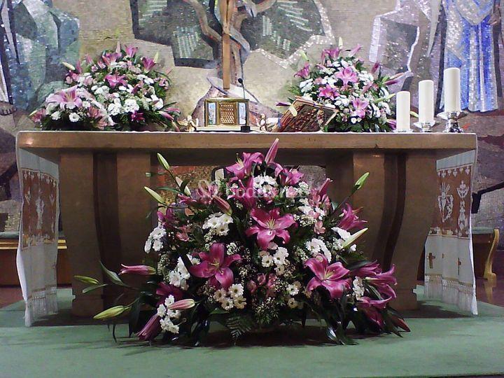 Deco de iglesia la florida