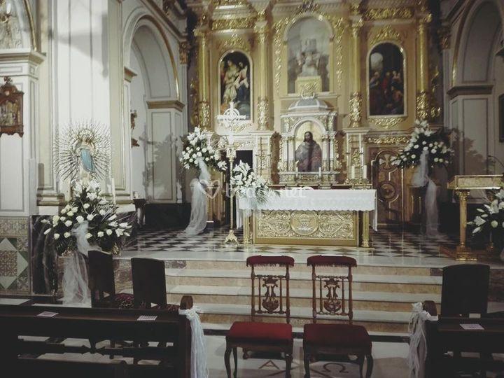 Decoración para la iglesia