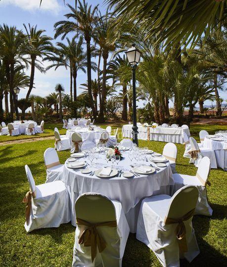 Banquete Jardín