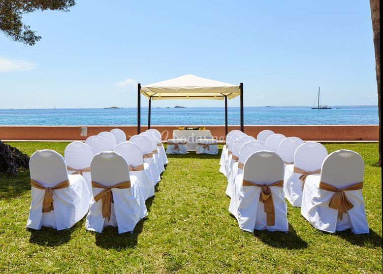 Ceremonia con vistas al mar