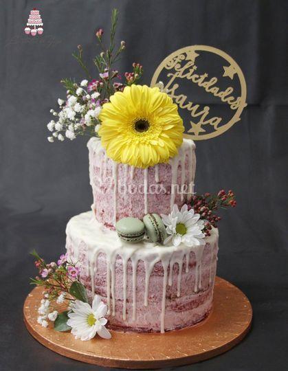 Drip cake Red Velvet