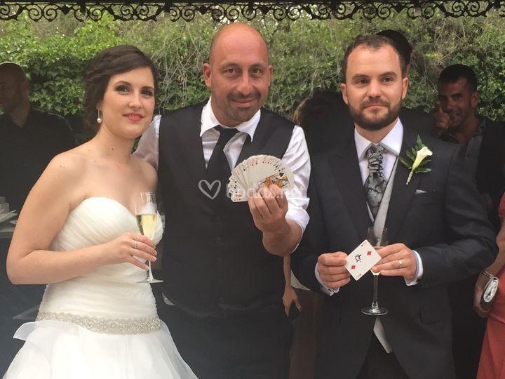 La mejor magia para tu boda