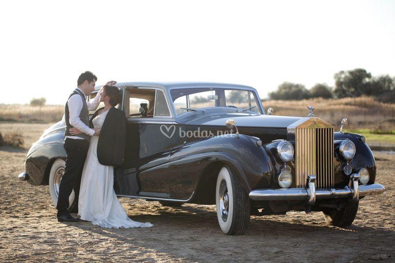 Alquiler Rolls Royce Negro