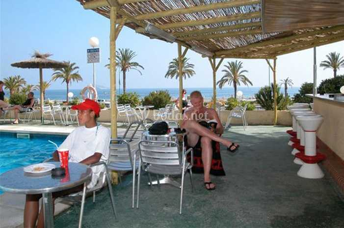 Terraza Bar De Hotel Poseidón Playa Foto 4