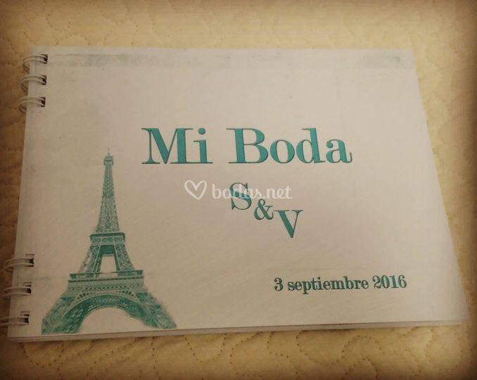 Agenda boda París