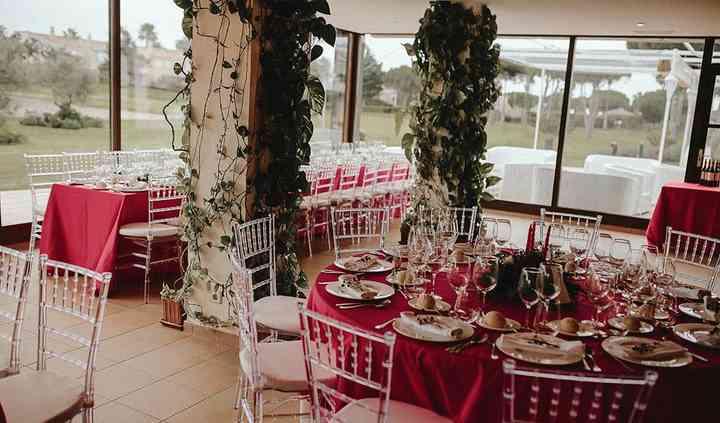 Preciosa boda navideña