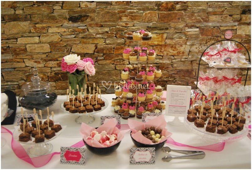 Dulces para bodas cake ideas and designs - Mesa de dulces para bodas ...