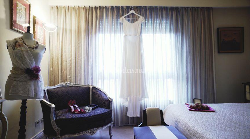 Preparativos antes de la boda