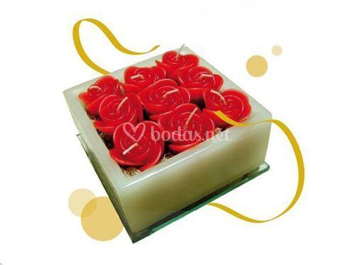 Caja de rosas (G)