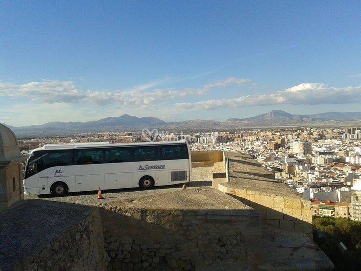 Con vistas a Andalucía