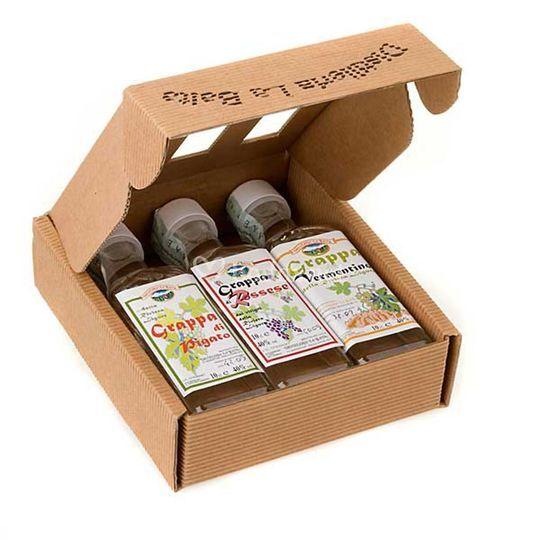 Pack 3 botellitas de licor