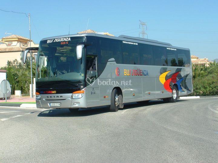 Autobús para boda de 54 plazas