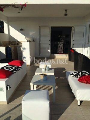 Mobiliario Lounge en alquiler
