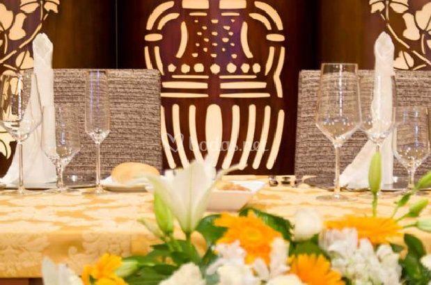 Detalle banquete