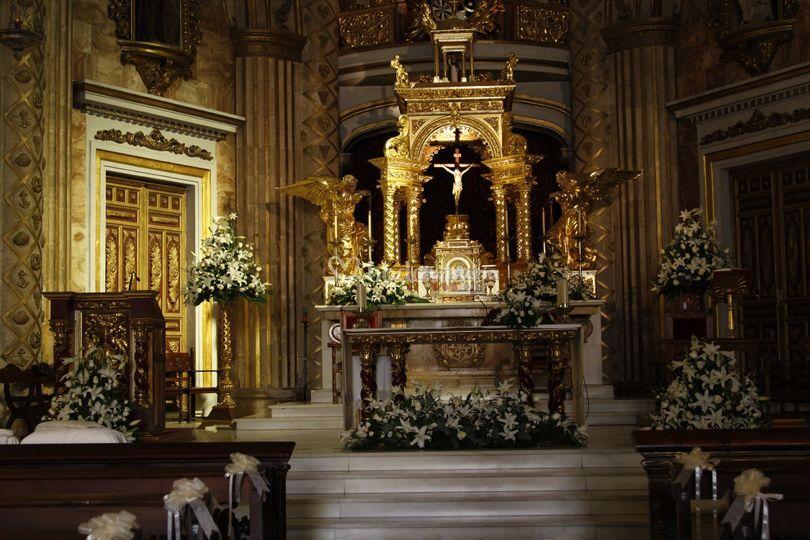 Altar Virgen del Mar