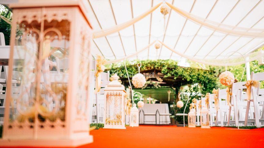 Ceremonia de los jardines del alberche foto 11 for Jardines del alberche