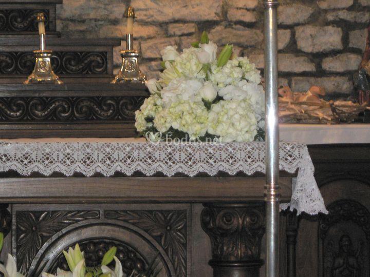 Centro mesa altar