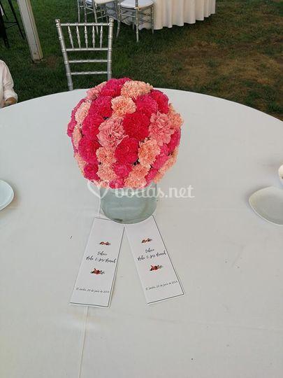 Centros de mesas boda
