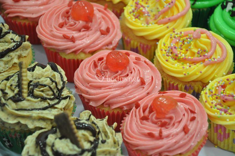 Cupcakes para la boda