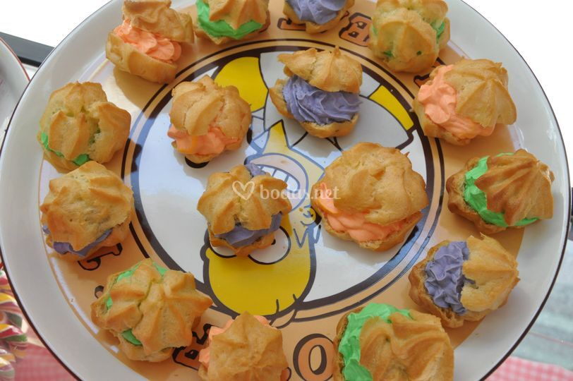 Lionesas de colores para tu Mesa de Dulces