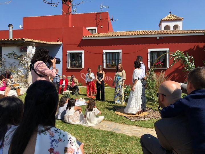 Una boda participativa