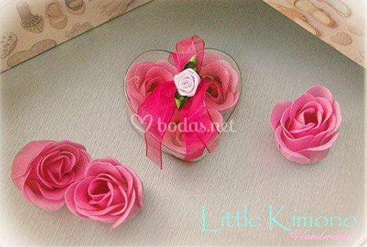 Jabones de rosa