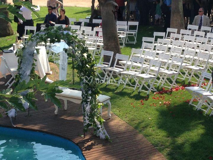 Disposición para boda civil