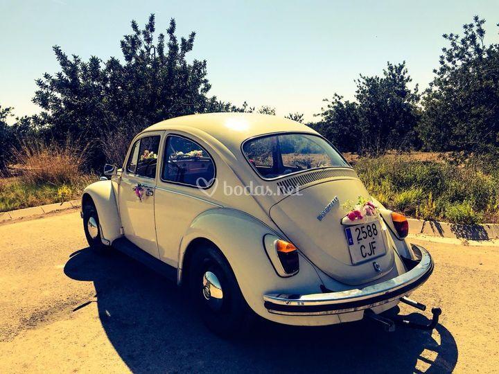 Wolvagen escarabajo 1960