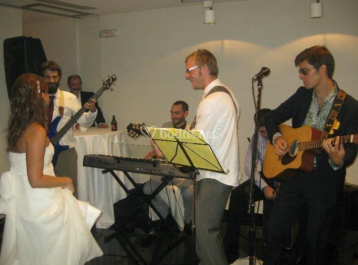 Grupos de música en directo de Músicos a la carta